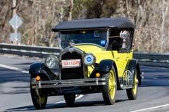 1925 Buick Standard Tourer. Adelaide, Australia - September 25, 2016: Vintage 1925 Buick Standard Tourer driving on country roads near the town of Birdwood Stock Photography