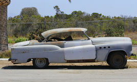 Buick Straight 8 lowrider abandon Royalty Free Stock Photo