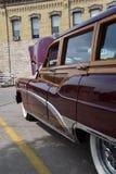 Buick Woody Station Wagon Side sikt 1953 Arkivbild