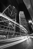 buiding在香港的高层现代办公室 免版税库存照片