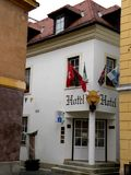 Buiding in  Gyor, Hungary Royalty Free Stock Photo