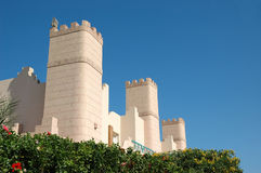 buiding stil för arab royaltyfria foton