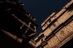 Buidings en el fuerte, Jaisalmer, la India Foto de archivo libre de regalías