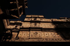Buidings en el fuerte, Jaisalmer, la India Fotografía de archivo