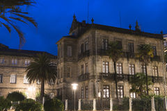Buidings in Pontevedra (pain) Royalty Free Stock Photos