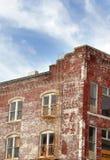buidling的砖再做 免版税库存照片