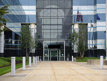 Buidling Entrance. Photo of a Office Building Entrance Royalty Free Stock Images
