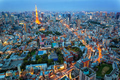 Buidling japan Stock Photography