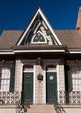 Buidling w dzielnicie francuskiej & x28; Nowy Orleans& x29; Fotografia Stock