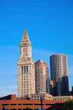 Buidlings in the center of Boston Stock Photos