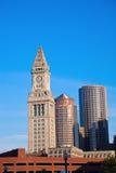 Buidlings en el centro de Boston fotos de archivo