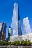 Buil conmemorativo del World Trade Center 911 9-11 Nueva York Manhattan nuevo Foto de archivo libre de regalías