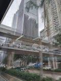 Build,view,bridge,modern,glass building,city,house royalty free stock photo