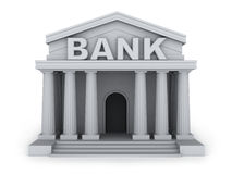 Build bank Royalty Free Stock Images