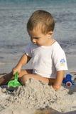 Build on the beach Stock Photography
