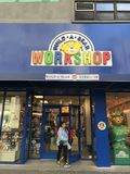 Build a bear. Workshop store in New York City stock images