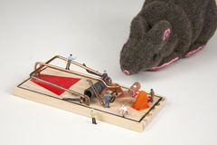 Build a Better Mouse Trap Stock Photography