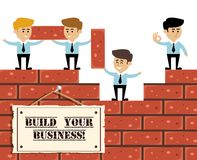 Build business concept Royalty Free Stock Image