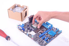 Build computer royalty free stock photography