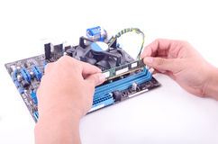 Build computer Stock Images