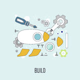 Build concept Stock Images