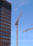 Build crane c4 Royalty Free Stock Image