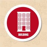 Build design over beige background vector illustration Stock Photo