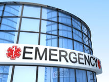 Build Emergency 3d Stock Image