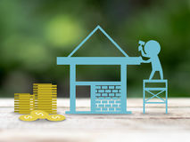 Build house Stock Photography