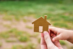 Build my houses Royalty Free Stock Images