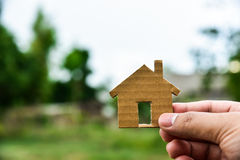 Build my houses Royalty Free Stock Image