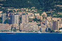 Build-over modern district of Monaco Stock Images