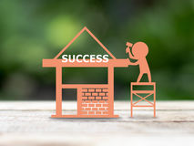 Build success Stock Photography