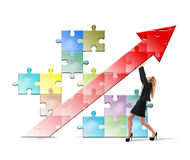 Build and sustain success Stock Image