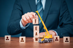 Build team - human resources concept Stock Photos