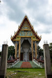 Build the temple thailand. Royalty Free Stock Photography