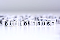 Build trust concept Royalty Free Stock Images