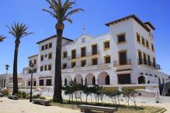Build in the village of tarifa, Cádiz Royalty Free Stock Photography