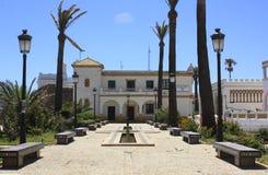 Build in the village of tarifa, Cádiz Stock Images