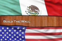 Build the Wall royalty free stock photos