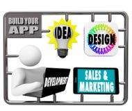 Build Your App - Model Kit Royalty Free Stock Photo