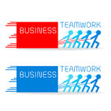 Build your business with strong teamwork Royalty Free Stock Photography