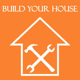 Build your house Stock Images