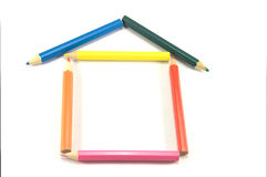 Build your own house. Abstract metaphor Stock Photos