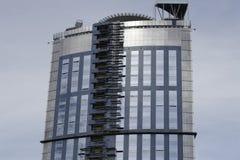 Builded modernes Gebäude lizenzfreie stockbilder