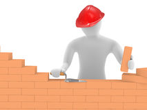 The builder Royalty Free Stock Images
