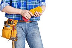 The builder Royalty Free Stock Photo