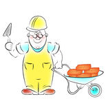 Builder Royalty Free Stock Photo