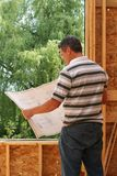 The builder royalty free stock image
