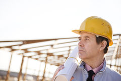 Builder royalty free stock image